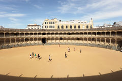 Bullring in Ronda, Spain Royalty Free Stock Images