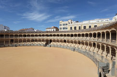 Bullring in Ronda, Spain Stock Photo