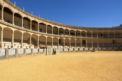 Bullring in Ronda, Spain. Considered to be the Oldest Bullring in The World Stock Images
