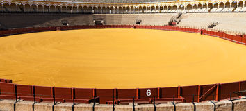 Bullring in Sevilla Royalty Free Stock Photo