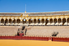 Bullring in Sevilla Royalty Free Stock Photo