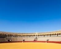 Bullring in Sevilla Stock Image
