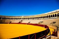 Bullring in Sevilla Royalty Free Stock Image
