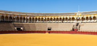 Bullring in Sevilla Royalty Free Stock Images
