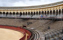 Bullring, Seville Royalty Free Stock Photos
