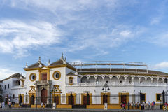 Bullring in Seville, Andalusia Stock Photo