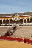 Bullring in Seville, Spain Royalty Free Stock Photography