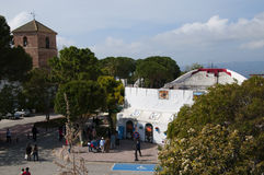 Bullring in the Village of Mijas on the Costa del Sol Spain Royalty Free Stock Photo