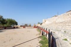 Bullring w Hita, Guadalajara, Hiszpania Obraz Royalty Free