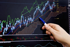 Bulls and bears Stock Images