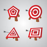 Bulls eye Stock Images
