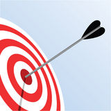 Bulls eye Stock Images