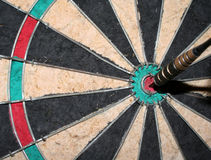 Bulls-Eye. A closeup of a perfect bulls-eye Royalty Free Stock Photo
