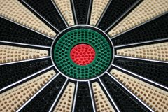 Bulls Eye of Dart Board Royalty Free Stock Photography
