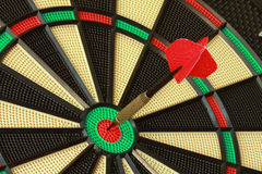 Bulls Eye DartBoard Royalty Free Stock Photography