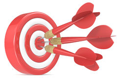 Bulls Eye. Stock Photography