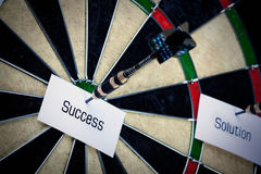 Bulls Eye Success! Royalty Free Stock Image