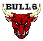 Bulls Sports Mascot Stock Photo