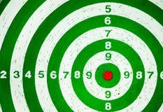 Bullseye. Target dartboard with no hit stock photography