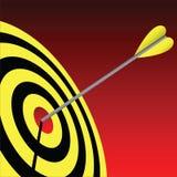 Bullseye Fotografia Stock