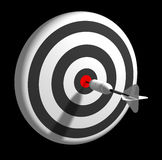 Bullseye Stock Photo