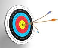 Bullseye Royalty-vrije Stock Afbeelding