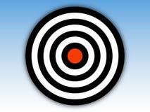 bullseye Στοκ εικόνες με δικαίωμα ελεύθερης χρήσης