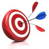 Bullseye Immagine Stock Libera da Diritti