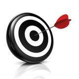 Bullseye Fotografie Stock Libere da Diritti