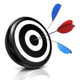 Bullseye Fotografia Stock Libera da Diritti