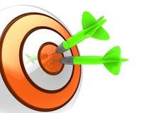 Bullseye vector illustration