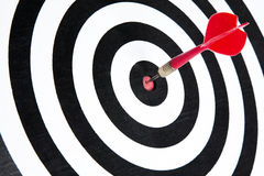 Bullseye zdjęcie stock