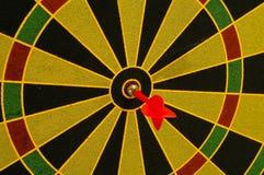 bullseye arkivbild