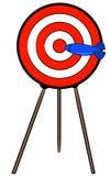 bullseye иллюстрация вектора