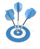 Bullseye. Royalty Free Stock Photography