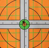 Bullseye Bullet Hole Royalty Free Stock Photo