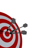 Bullseye - business concept Royalty Free Stock Photography