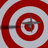 Bullseye - business concept Stock Images