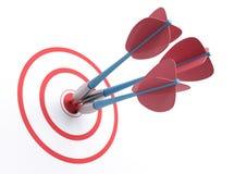 Bullseye stock illustration