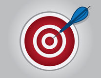 Bullseye Dart Royalty Free Stock Photos