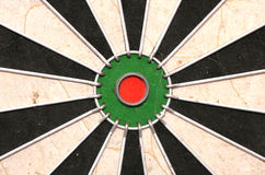 Bullseye of a Dartboard abstract. Background Royalty Free Stock Images