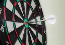 Bullseye electronic Dartboard Royalty Free Stock Images