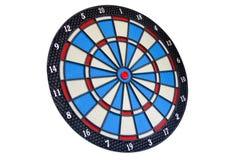 Bullseye isolato su bianco illustrazione di stock
