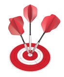 Bullseye. Royalty Free Stock Image