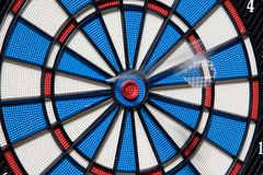 Bullseye success Stock Photos