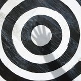 Bullseye target. royalty free stock photos