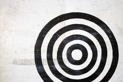 Bullseye target. stock photo