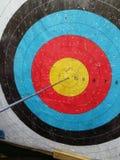 Bullseye on a target Stock Photo