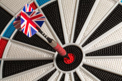 Bullseye - UK Flag Tail Royalty Free Stock Photo