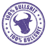 Bullshit stamp Stock Images